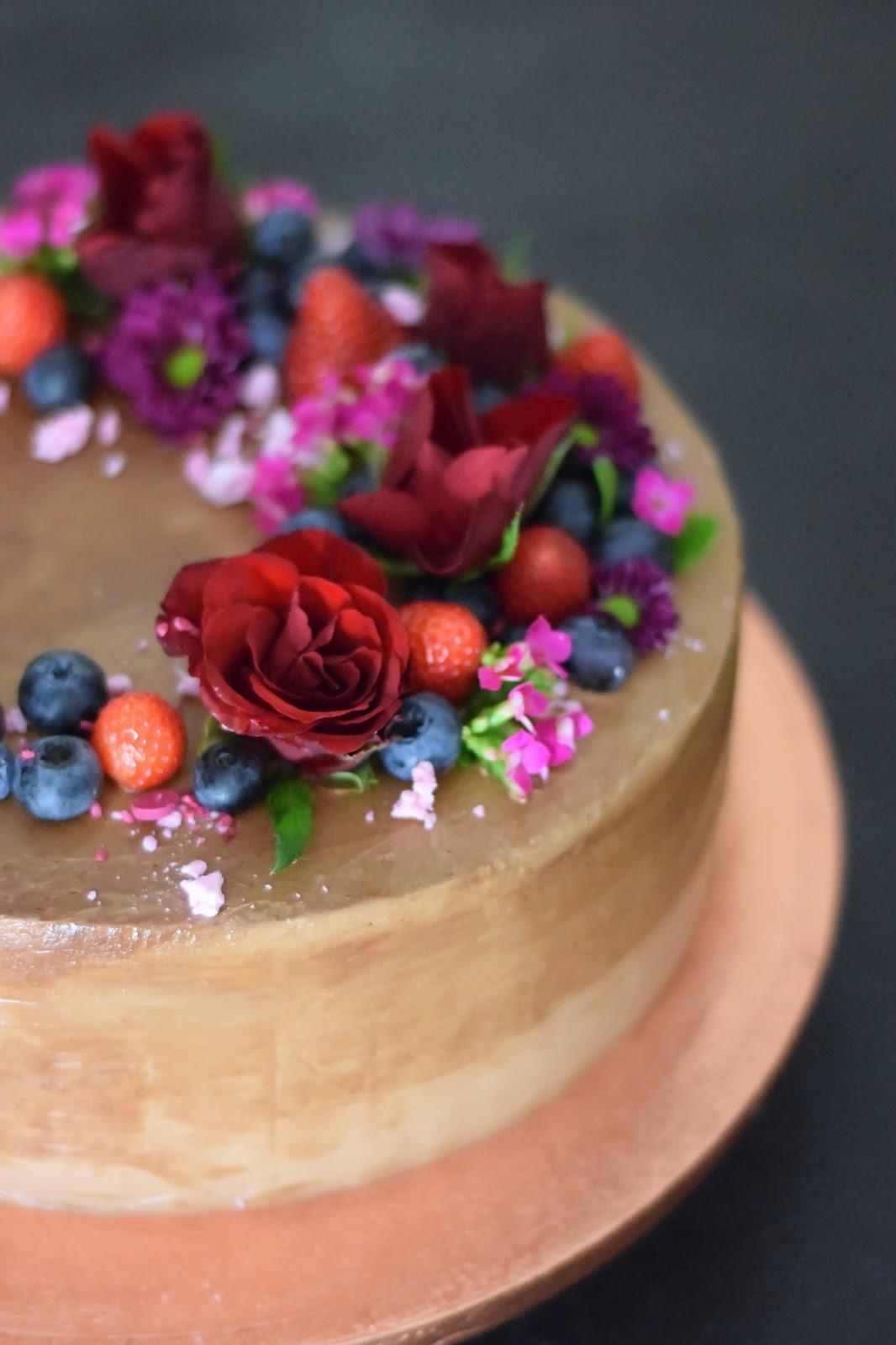 Czekoladowy Ombre Cake Kulinaria Zblogowani