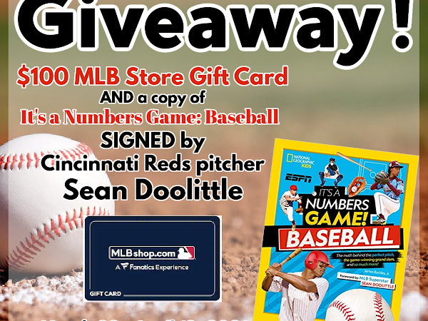 Enter to Win a National Geographic Kids Opening Day Grand Prize Giveaway! #OpeningDay #SeanDoolittle #MLB #kidlit