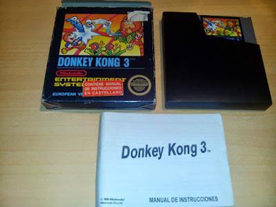 donkey kong 3 spaco