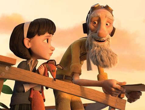 La niña y el aviador - Cine de Escritor