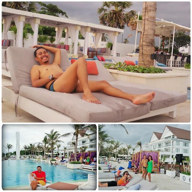 Santai Di Beach Club Tepi Pantai