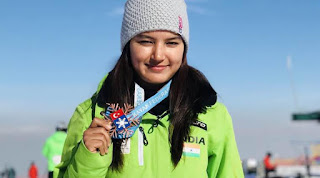Spotlight : Aanchal Thakur Becomes First Indian to Win an International Medal in Skiing.