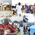 Money rain at Nigerian big boy Escoba Smith's father's burial in Abia (Photos)