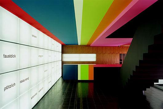 interior colorful wallpaper right - photo #37