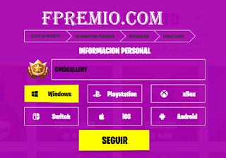 Fpremio.com Get Free Vbucks fortnite