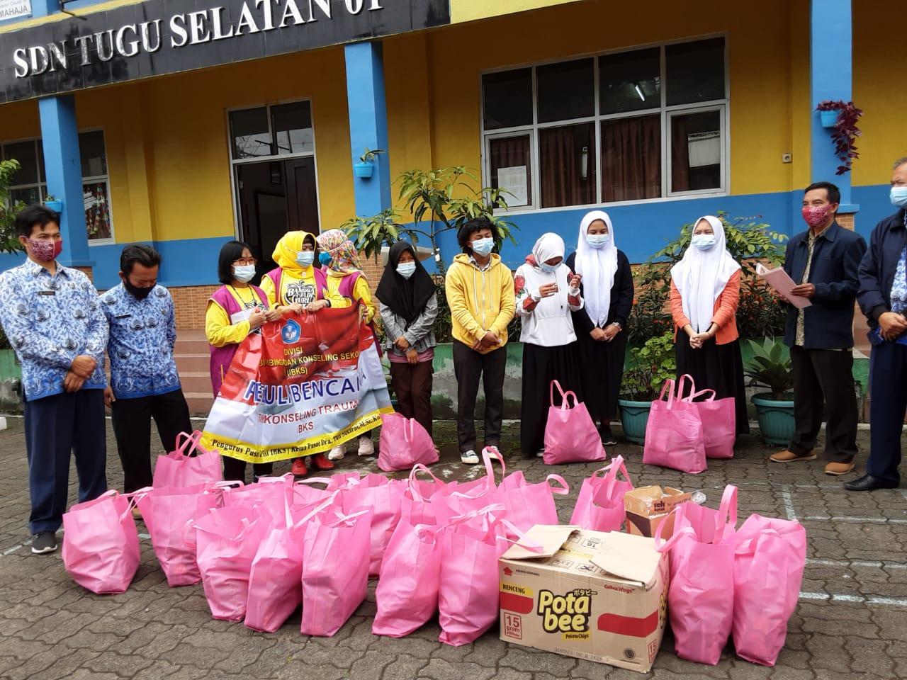 IBKS memberikan bantuan terhadap siswa dan Guru Terdampak Bencana di Mamuju Sulawesi Barat