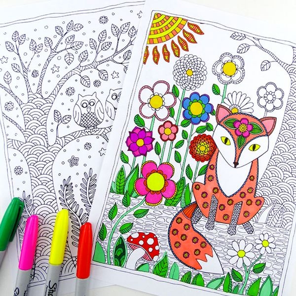 Cómo crear [Gratis] tu propio libro de colorear para adultos con ...