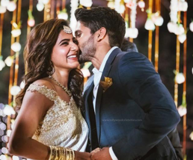 Naga Chaitanya Samantha Engagement Photos