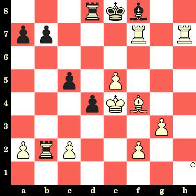 Les Blancs jouent et matent en 4 coups - Jan Timman vs Jan Donner, Amsterdam, 1973
