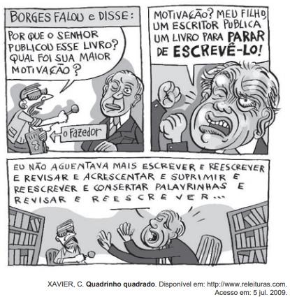 Borges falou e disse