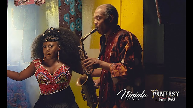 """Niniola releases the video for her latest single """"Fantasy"""" featuring Afrobeat icon, Femi Kuti."""
