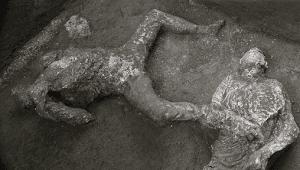 2 Kerangka Manusia Ditemukan di Pompeii, Diduga Budak-Majikan