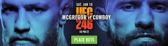 UFC 246 McGregor vs Cerrone Bet Now