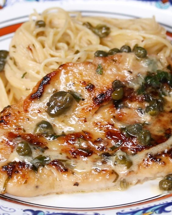 Creamy Chicken Piccata #recipes #tasty #tastyrecipes #food #foodporn #healthy #yummy #instafood #foodie #delicious #dinner #breakfast #dessert #lunch #vegan #cake #eatclean #homemade #diet #healthyfood #cleaneating #foodstagram