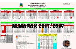 Kalender Almanak Pendidikan Provinsi Jawa Barat Tahun Pelajaran 2017 2018 Download Berkas Kita