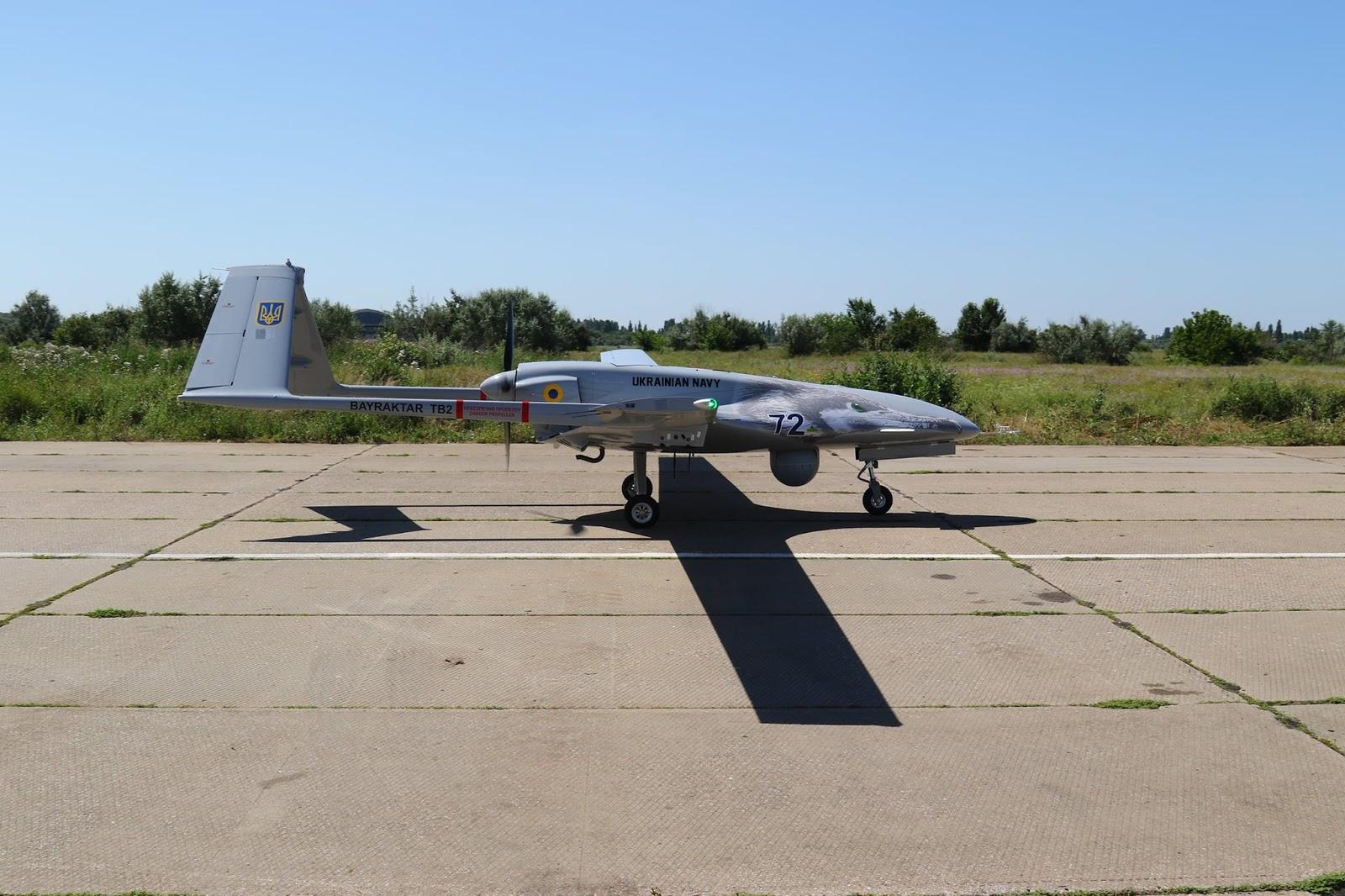 Перший Bayraktar TB2 для ВМС поставлено в Україну