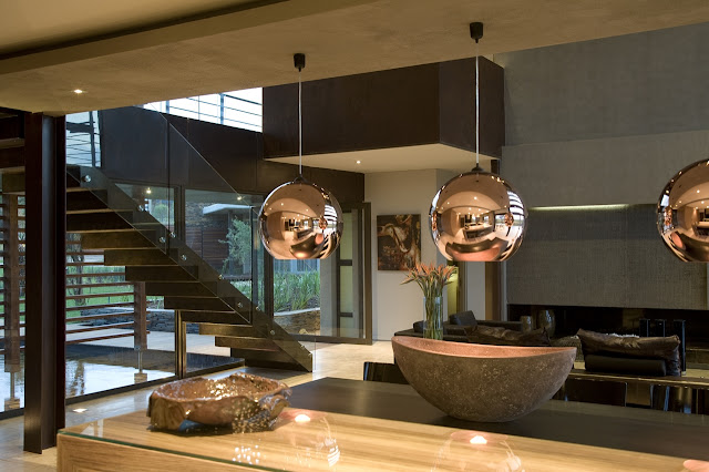 Interiors of the Serengeti House by Nico van der Meulen Architects