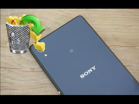 استعادة البيانات المحذوفة / المفقودة من هواتف Sony Xperia المحمولة