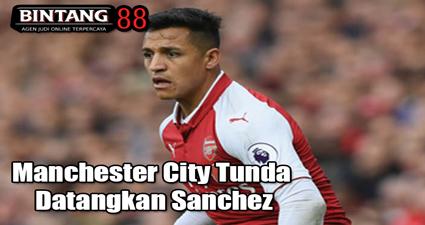 Manchester City Tunda Datangkan Sanchez
