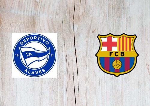 Deportivo Alavés vs Barcelona -Highlights 31 October 2020