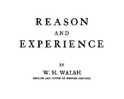 Reason And Experience (1947)
