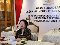 Pesan Megawati Soekarnoputri Kepada Mahasiswa Doktoral Unhan