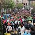 Cientos de escolares participan en las actividades con motivo de la Korrika