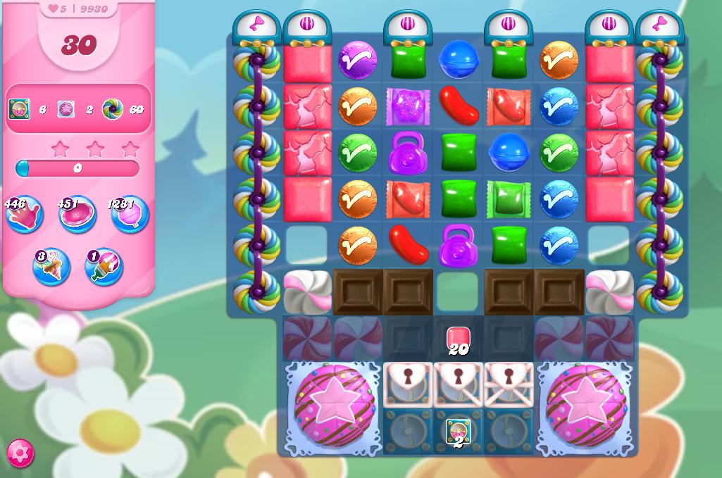 Candy Crush Saga level 9930