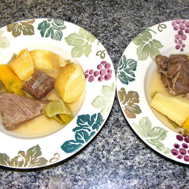 Homemade pot au feu. Photo by Loire Valley Time Travel.