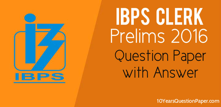Ibps Previous Question Papers Answers Pdf
