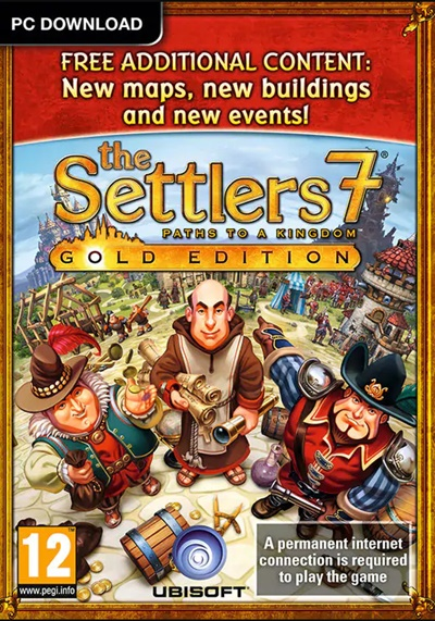 โหลดเกมส์ The Settlers 7: Paths to a Kingdom - Deluxe Gold Edition