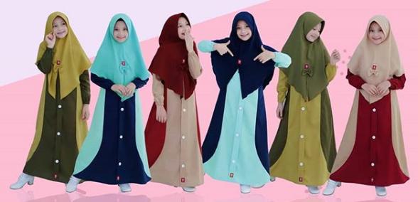 Model Gamis Anak Desain Mewah Dan Modern Terbaik 2021 Model Baju Terbaru