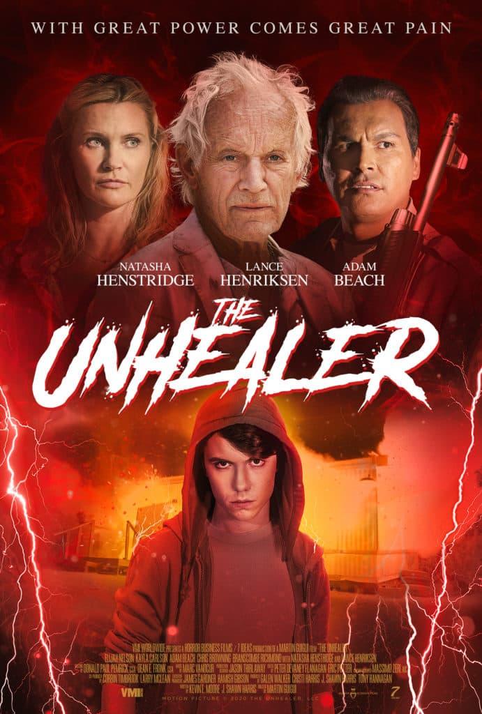 Вышел трейлер хоррора The Unhealer с Лэнсом Хенриксеном и Наташей Хенстридж - Постер
