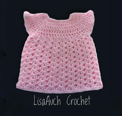 free crochet newborn dress pattern lisaauch