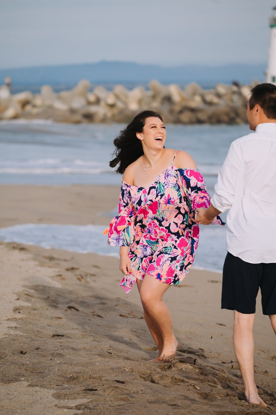 beach engagements in the SF bay area