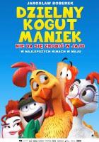 Dzielny kogut Maniek plakat film