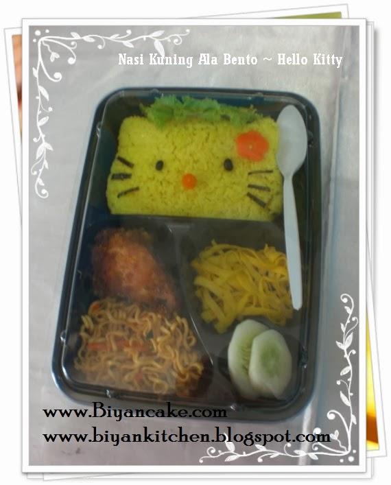 Biyancakes Toko Kue Di Bekasi Nasi Kuning Ala Bento