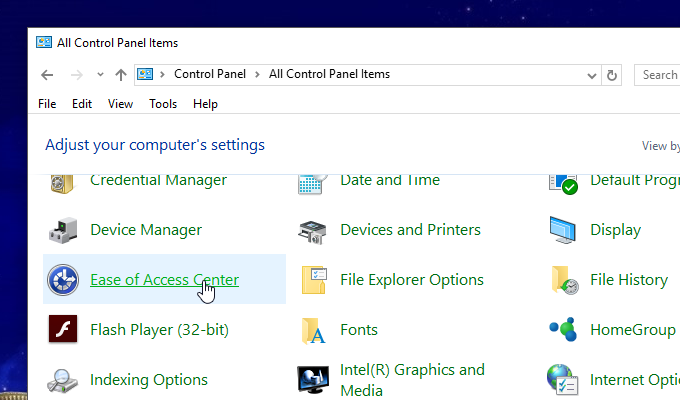 mở phím ảo máy tính windows