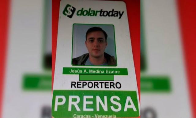 Denuncian que reportero gráfico Jesús Medina está desaparecido desde la tarde de este 4Nov