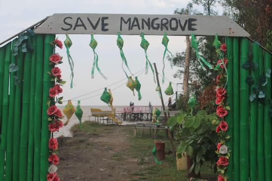 Pemandangan Mangrove Park bakau Besar 13 - Catatan Nizwar ID