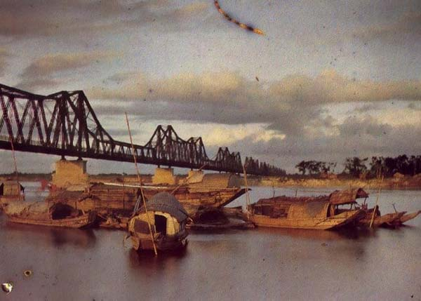 Cầu Long Biên Hà Nội xưa