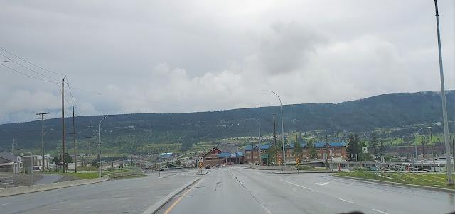 Highway 97 Williams Lake, B.C. Canada