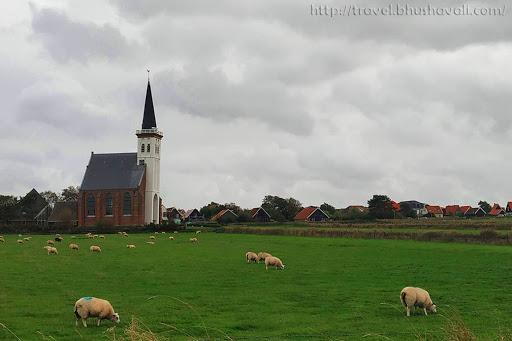 Den Hoorn Church Texel Island