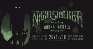 Nightstalker + Drunk Jackals Live! (26/10 Κόρινθος)