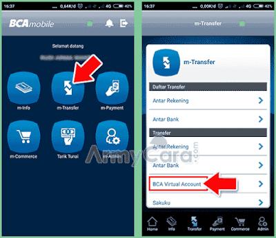 cara pembayaran tokopedia via mobile banking