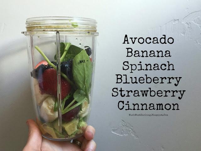 banana spinach strawberry