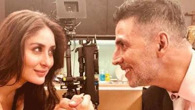 Akshay Kumar plays a prank on Kareena Kapoor Video Viral