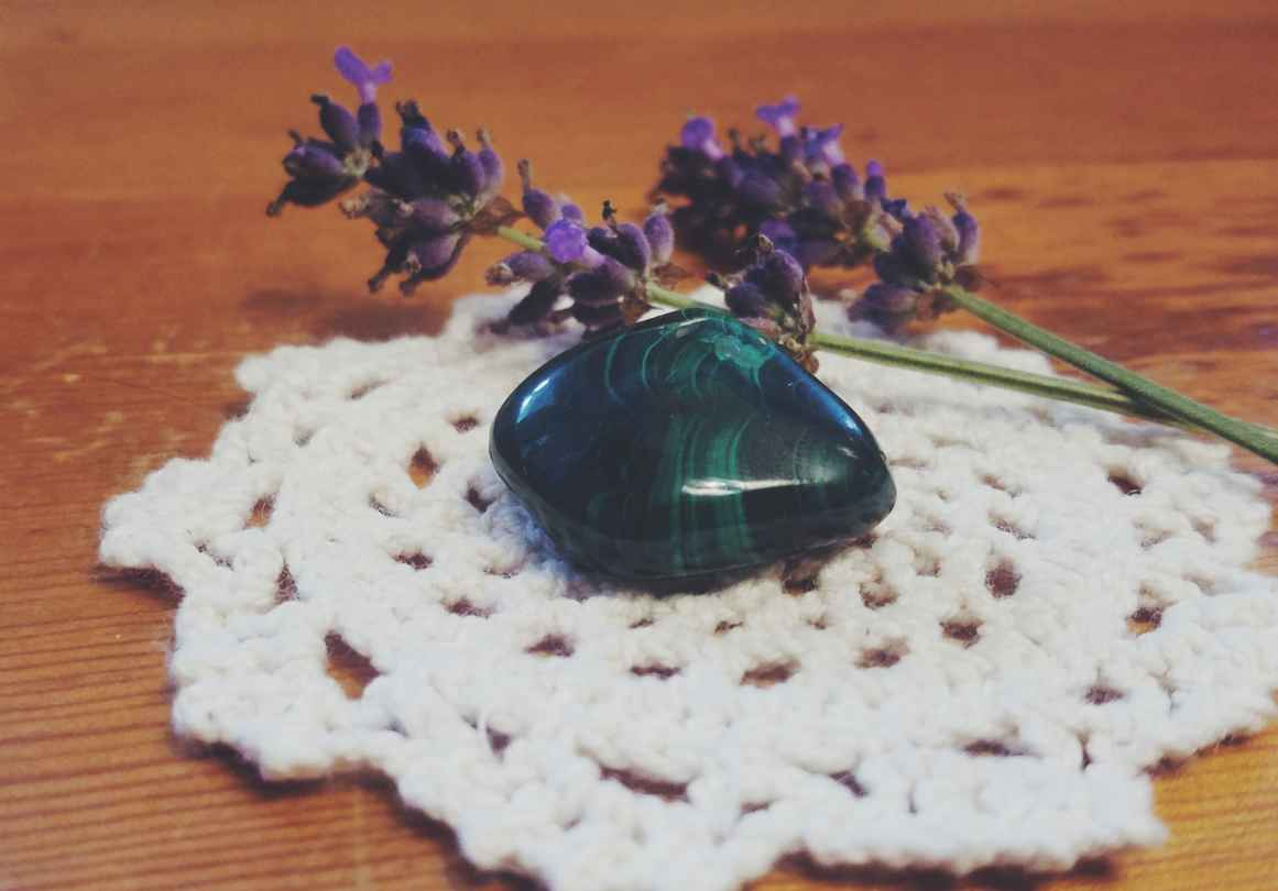 5 Crystals for Gardening- Malachite