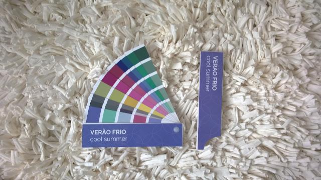 """cartela de cores pessoal da Carina Pedro: """"verão frio"""""""