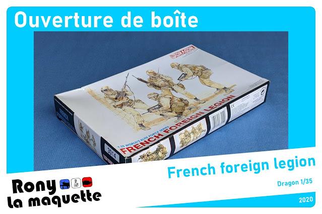 French Foreign Legion de Dragon au 1/35